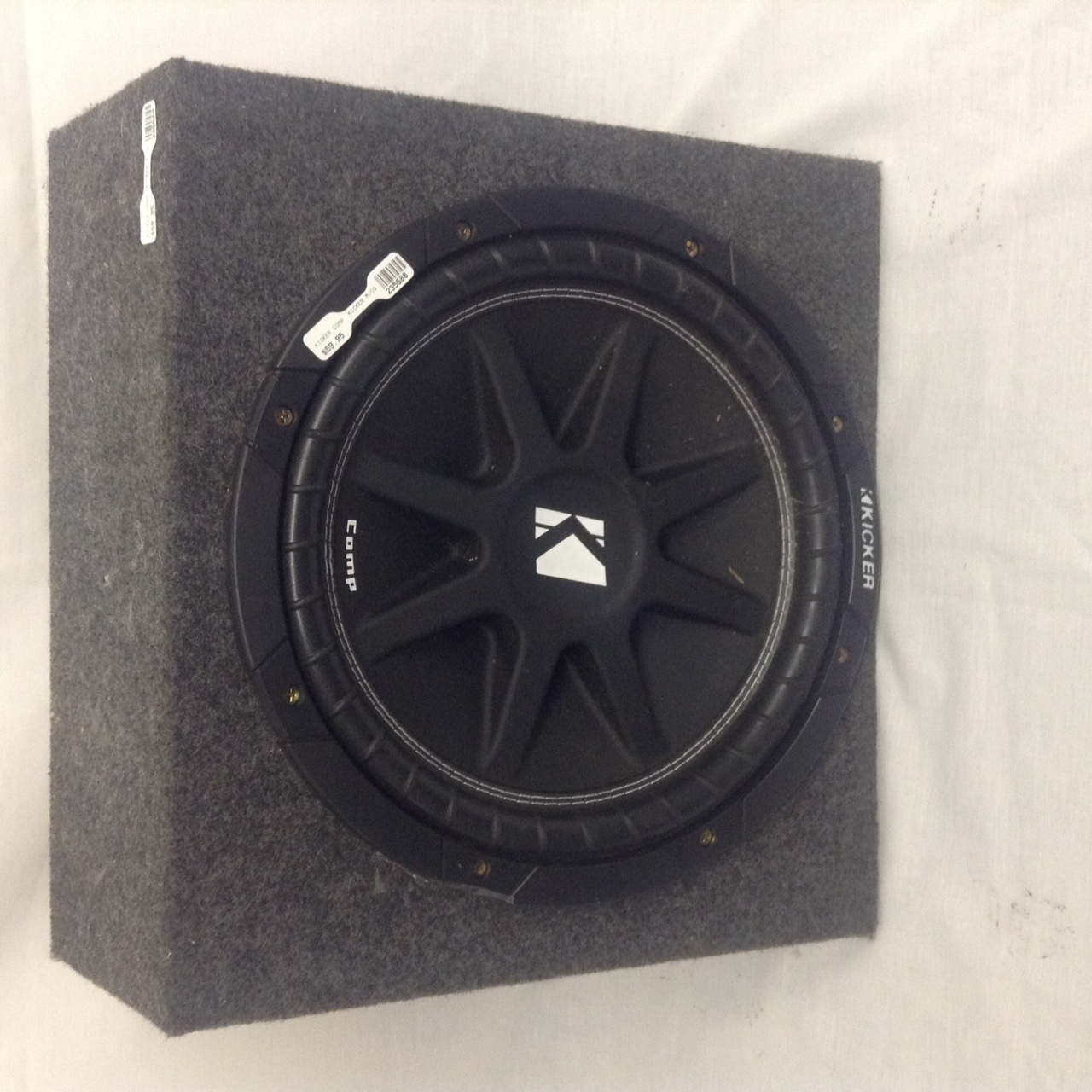 Kicker 12″ Single Sub In Box